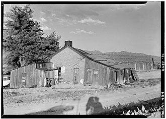 Warner's Ranch - Warner's Ranch, Ranch House, San Felipe Road (CR S2), October 1960