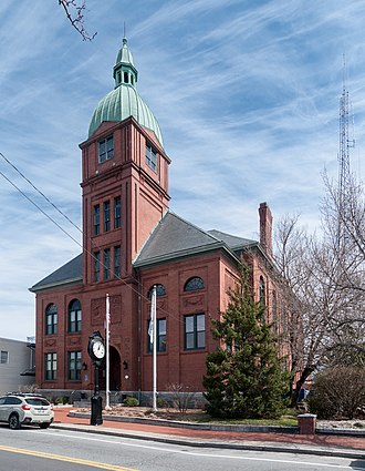 Warren, Rhode Island - Image: Warren Rhode Island Town Hall