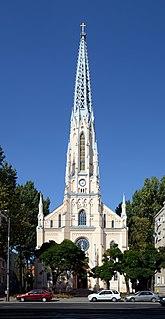 Church in Warsaw, Poland