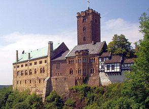 Le Wartbourg, à Eisenach, où se déroule l'action de Tannhäuser