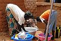 Washing Dishes at the Auberge de Nomad - Bani - Sahel Region - Burkina Faso.jpg