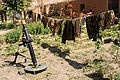 Washing Line of Uniforms in Afghanistan MOD 45150637.jpg