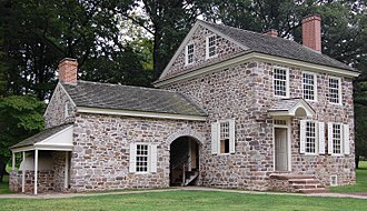 Pennsylvania in the American Revolution - Washington's Headquarters at Valley Forge (Issac Potts House)