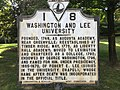 Washington and Lee University, Lexington, VA - historical marker.jpg