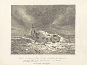 Waterloo (1815 ship) - Image: Waterloo Wreck 00