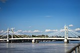 Weekend Walk- Richmond to BFI, BFI to Royal Albert Hall - Albert Bridge (20194049214).jpg