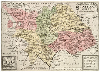 History of Staffordshire - Hundreds of Staffordshire