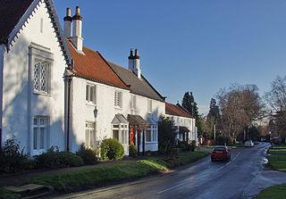 West Ella village in United Kingdom