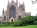 West face of Worcester Cathedral - geograph.org.uk - 964607.jpg