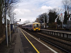 Westcombe Park railway station - Image: Westcombe Park station, Greenwich geograph.org.uk 141650