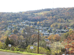 Westernport, Maryland - West side of Town. October 2014