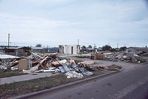 1979 Red River Valley tornado outbreak - Destruction in Wichita Falls, Texas, after the tornado