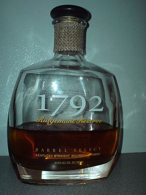 1792 bourbon whiskey