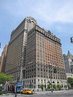 Whitehall Building Skyscraper in Manhattan, New York