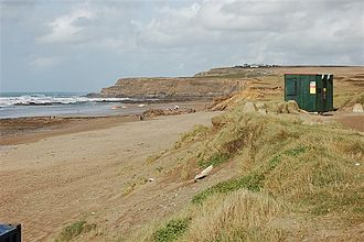 Cornwall film locations - Widemouth Bay