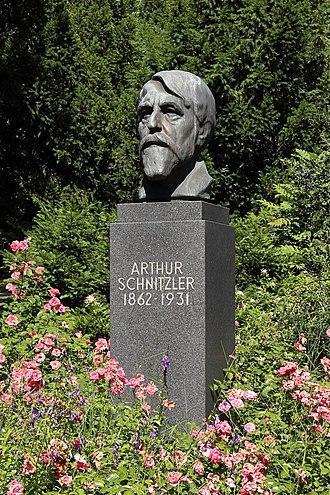 Arthur Schnitzler - Memorial in Vienna