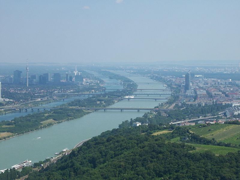 Bridges over the Danube in Vienna