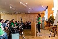 Wikimedia Hackathon Vienna 2017-05-19 opening 11.jpg