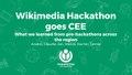 Wikimedia Hackathon goes CEE.pdf