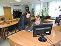 Wikiworkshop at Library of S. Kuznets KhNUE 2019-02-13 by Kharkivian 05.jpg