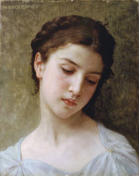 William-Adolphe Bouguereau (1825-1905) - Head Of A Young Girl (1898).jpg