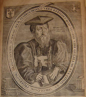 History of the Puritans under Queen Elizabeth I - Cambridge professor William Fulke (1538–1589) encouraged his students not to wear their required vestments.