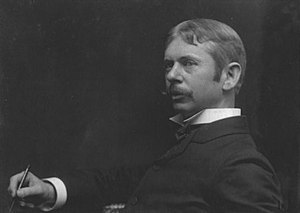 William Forsyth (artist) - A photograph of Forsyth in 1898