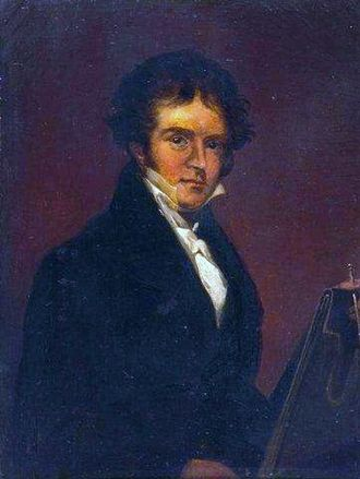William Linton (artist) - William Linton. Self-Portrait. c.1821. Bolton Museum and Art Gallery.