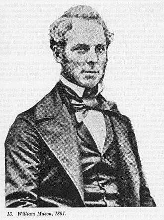 William Mason (architect) - William Mason in 1861.