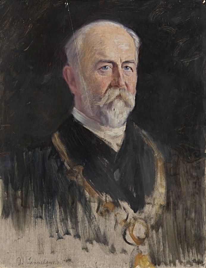 Portraitstudie Dr. Langerhans