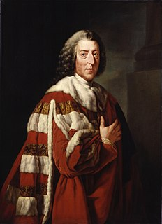 William Pitt, 1st Earl of Chatham 18th-century British statesman