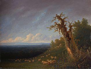 Shepherd Boy on a Hillside