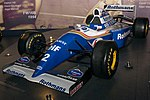 Williams FW16 front-left 2017 Williams Conference Centre 1.jpg