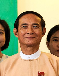 President of Myanmar head of state and head of government of Burma