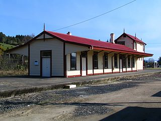 Wingatui railway station