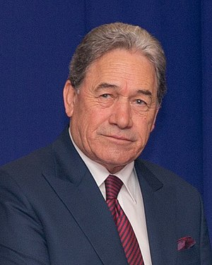 Deputy Prime Minister of New Zealand - Image: Winston Peters 2017 (38351102806) (cropped)