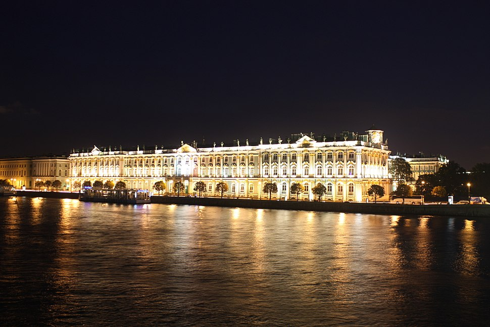 Winter Palace on Night