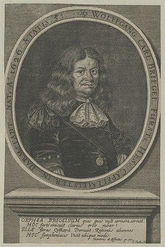 Wolfgang Carl Briegel - Wolfgang Carl Briegel
