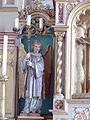 Wolframs-Eschenbach- St.Sebastian - Hochaltar 4 Engel.jpg