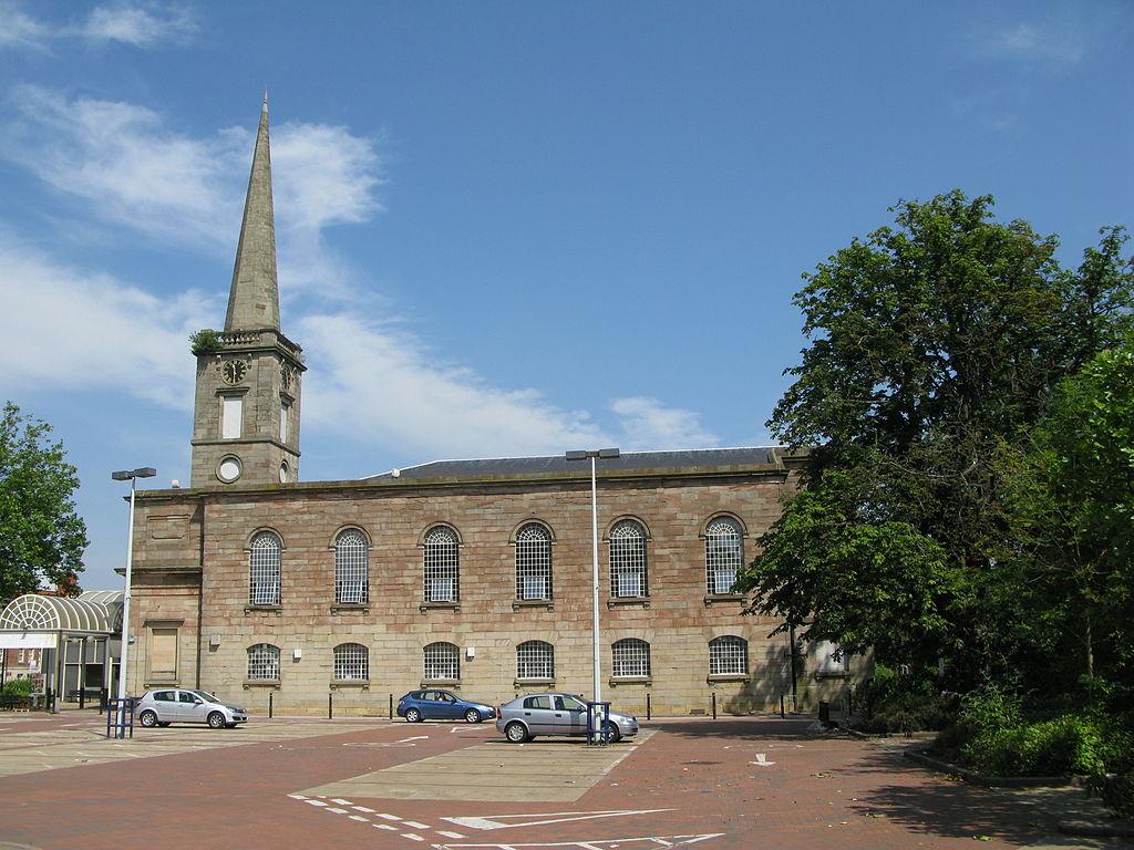 Wolverhampton former church of St George