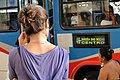 Woman Waits for Bus - Niteroi - Rio de Janeiro - Brazil (5985849049).jpg