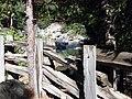 Wood Fence along American River, CA 8-2010 (5734519644).jpg