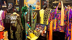 Randy Savage - A collection of Savage's flamboyant outfits