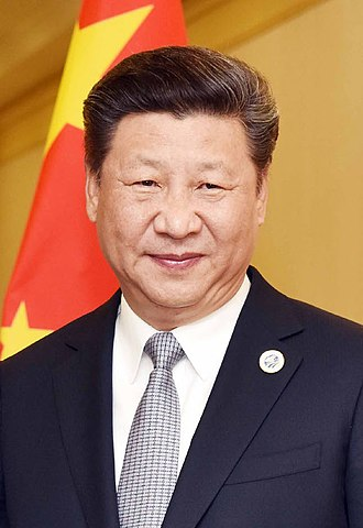President of the People's Republic of China - Image: Xi Jinping in 2016