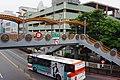 Xiaodongmen Footbridge and Fuhou Parking Lot, Banqiao District, New Taipei City 20130324.jpg