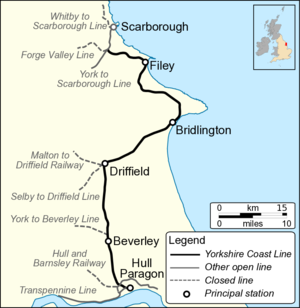 Hull–Scarborough line - Hull to Scarborough Line