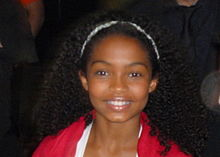 Yara Shahidi at the world premiere of Butter, 2011 Toronto Film Festival