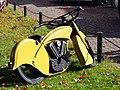 Yellow custom bike.JPG