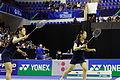 Yonex IFB 2013 - Quarterfinal - Tian Qing - Zhao Yunlei vs Misaki Matsutomo - Ayaka Takahashi 11.jpg
