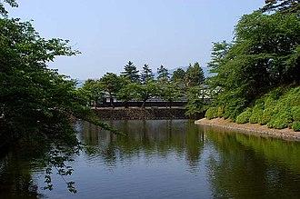 Yonezawa Castle - Moats of Yonezawa Castle